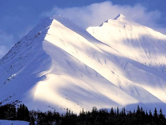 Karlı dağların Güneş ile imtihanı!