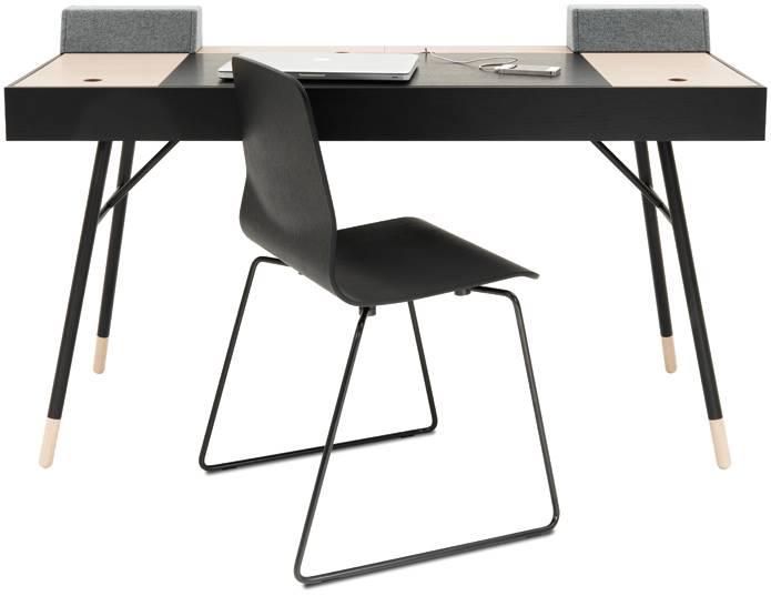 İki renkli çalışma masası, BO CONCEPT