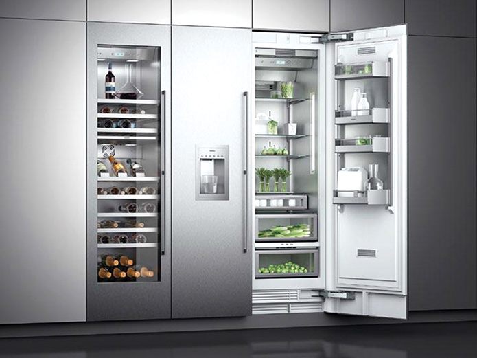 gaggenau dan yeni vario 400 buzdolab home showroom. Black Bedroom Furniture Sets. Home Design Ideas