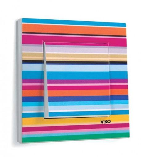Viko1 - Geometri ve renklerin birarada mükemmel bir uyum sergilediği alanlardan biri de desenler... Keskin hatlar ve net çizgiler, sıra dışı renk ve ton geçişleri ile daha da çarpıcı bir görünüme kavuşuyor.