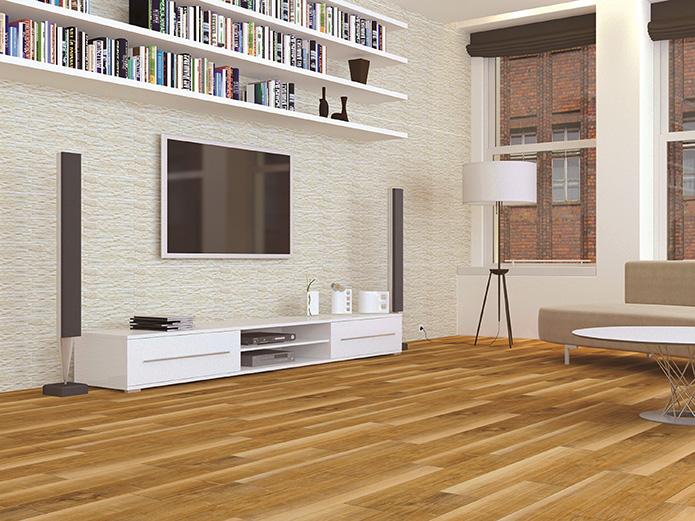 Yurtbay Seramik'in Timber serisi; yüzeyinde sergilediği ahşap efekti ile bu görsel etkiyi evinin her yerinde görmek isteyenlere yanıtlar üretiyor. Yer ve duvar karoları olarak tasarlanan seride akçaağaç, meşe, ceviz ve wenge renklerine yer verilmiş.